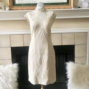 NWT! Sue Wong Ivory Sequins Dress 2 Style C3331